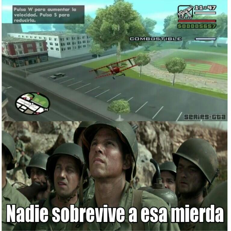 Que recuerdos el GTA san andreas :) - meme