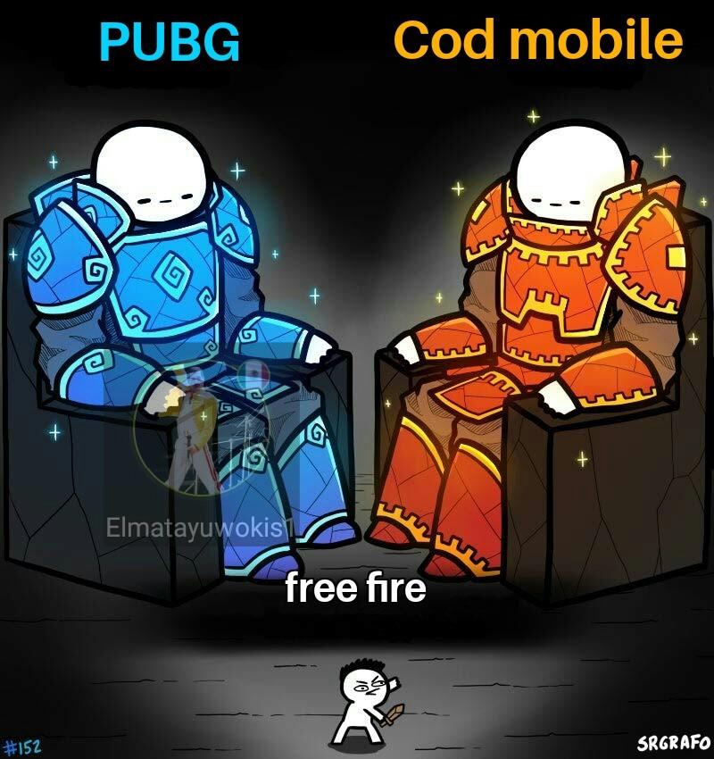 Iba a poner imágenes pero no alcanzaba la de free fire - meme