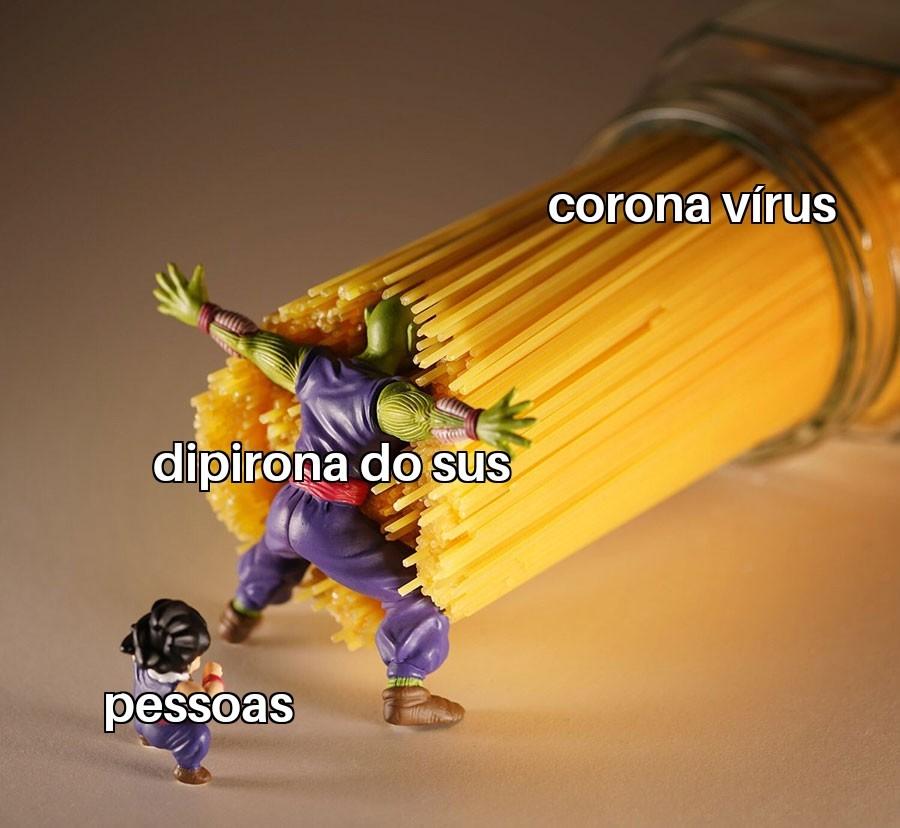 A cura contra o coronga - meme