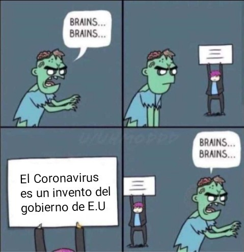 Al título le dió Coronavirus - meme