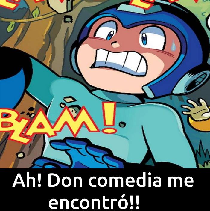 Megaman! Porfavor sobrevive! - meme