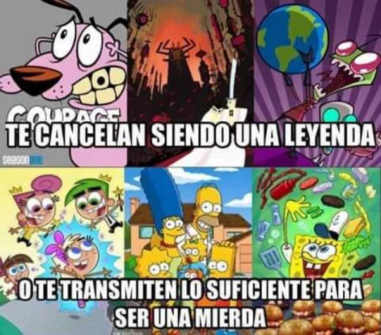 cancelados - meme