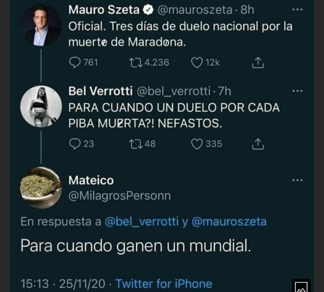 Maradona es una basura de persona - meme