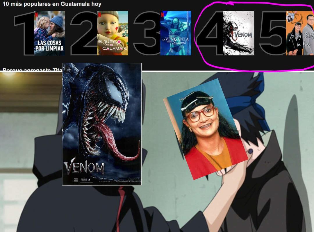 Todos Somos Venom - meme