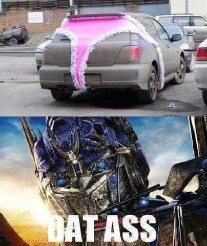 Car panties - meme