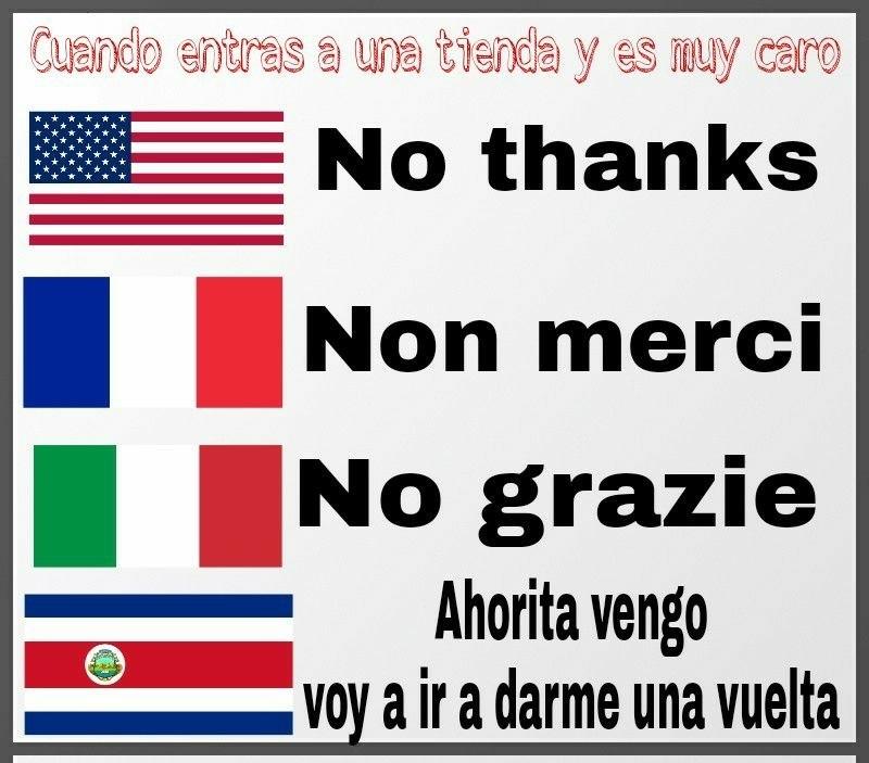 Costa Rica - meme