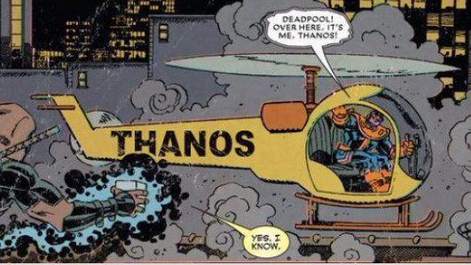 Thanos Copter - meme
