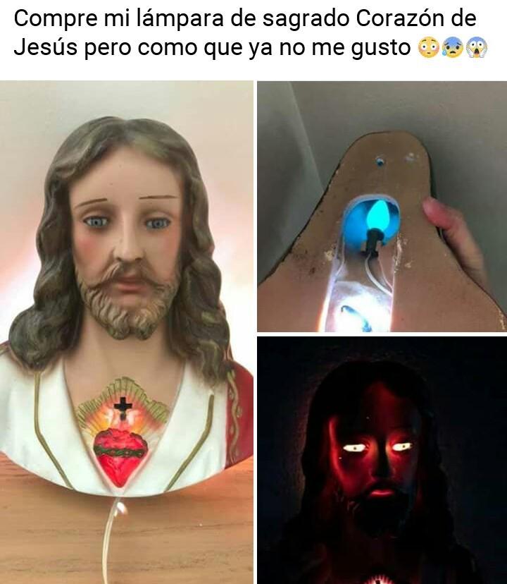 Jesús no era tan bueno. - meme