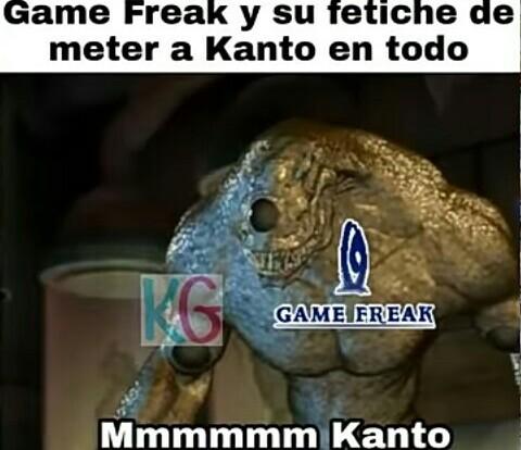 GameFreak para de una pta vez - meme