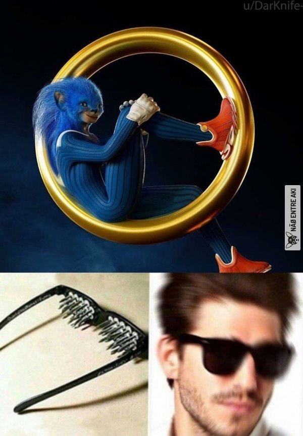 Sonic de chernobyl - meme