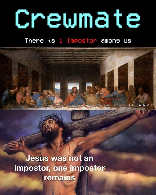 Judas sus' - meme