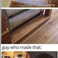 """""""cara que fez essa escada:"""""""