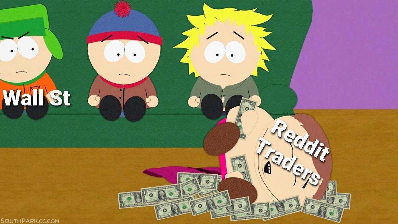 Yes gamestop money - meme