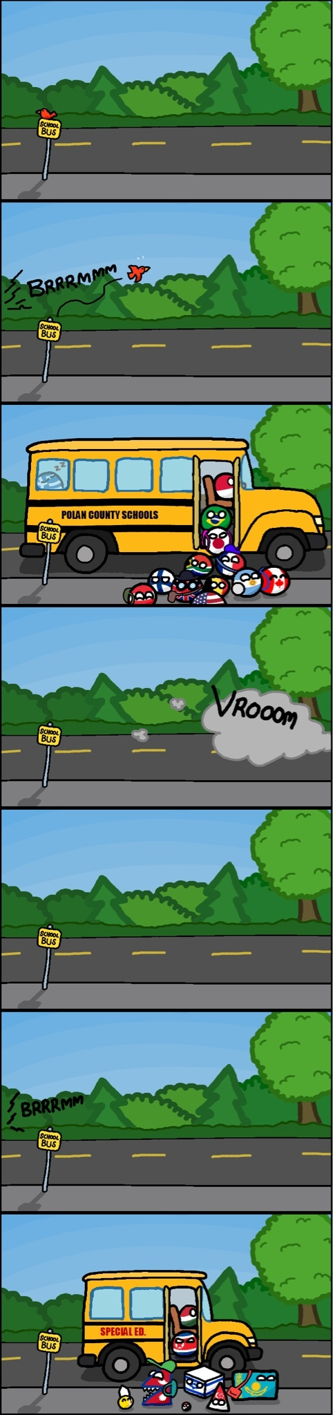 School bus - meme