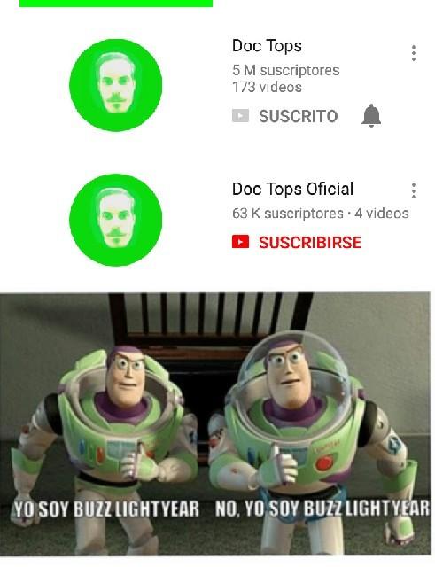 Ese no es el verdadero buzz - meme