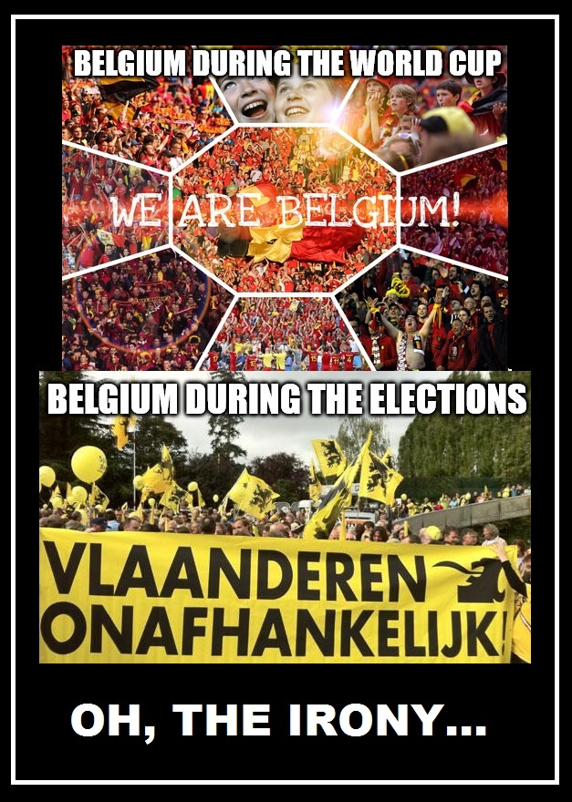 The Irony Of The Belgian People... - meme
