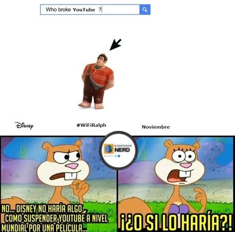 ¿Quién rompió Youtube? - meme