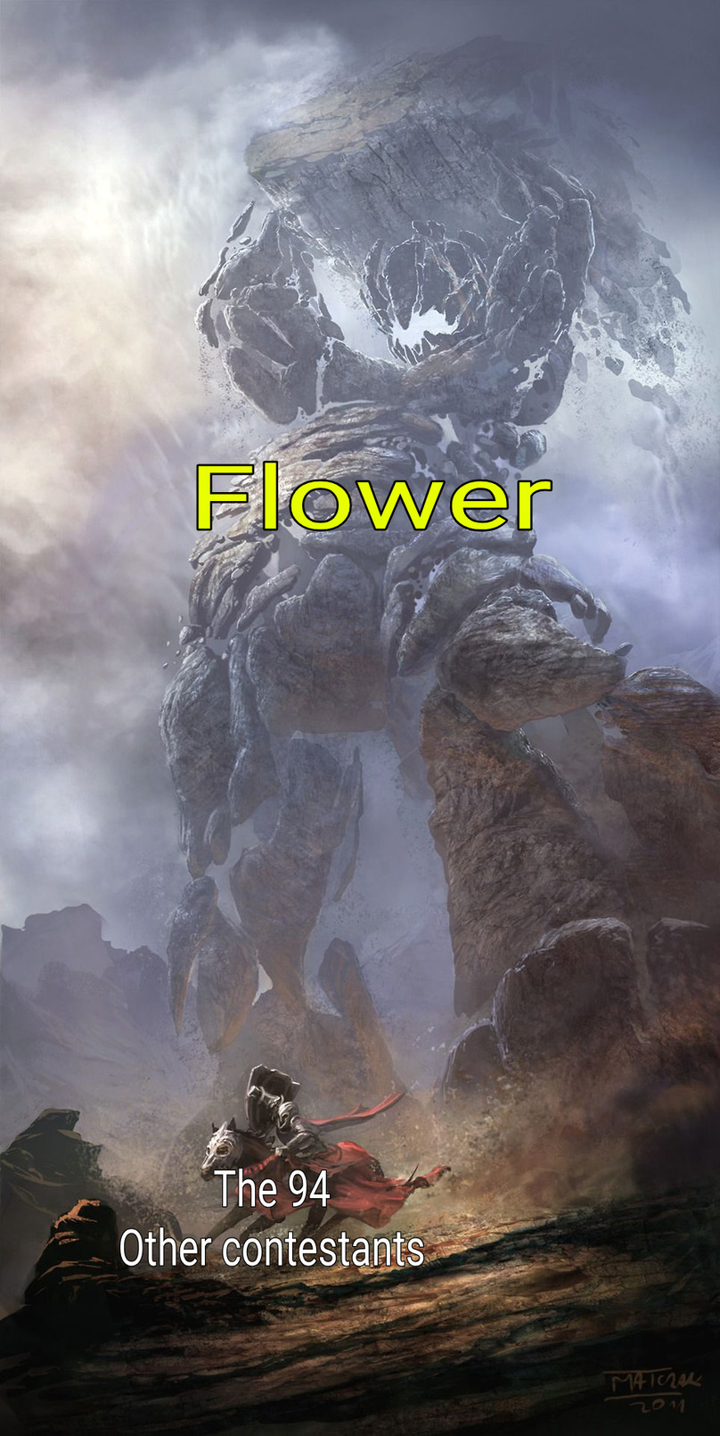 Flower is memedroid's exclusive meme of the month