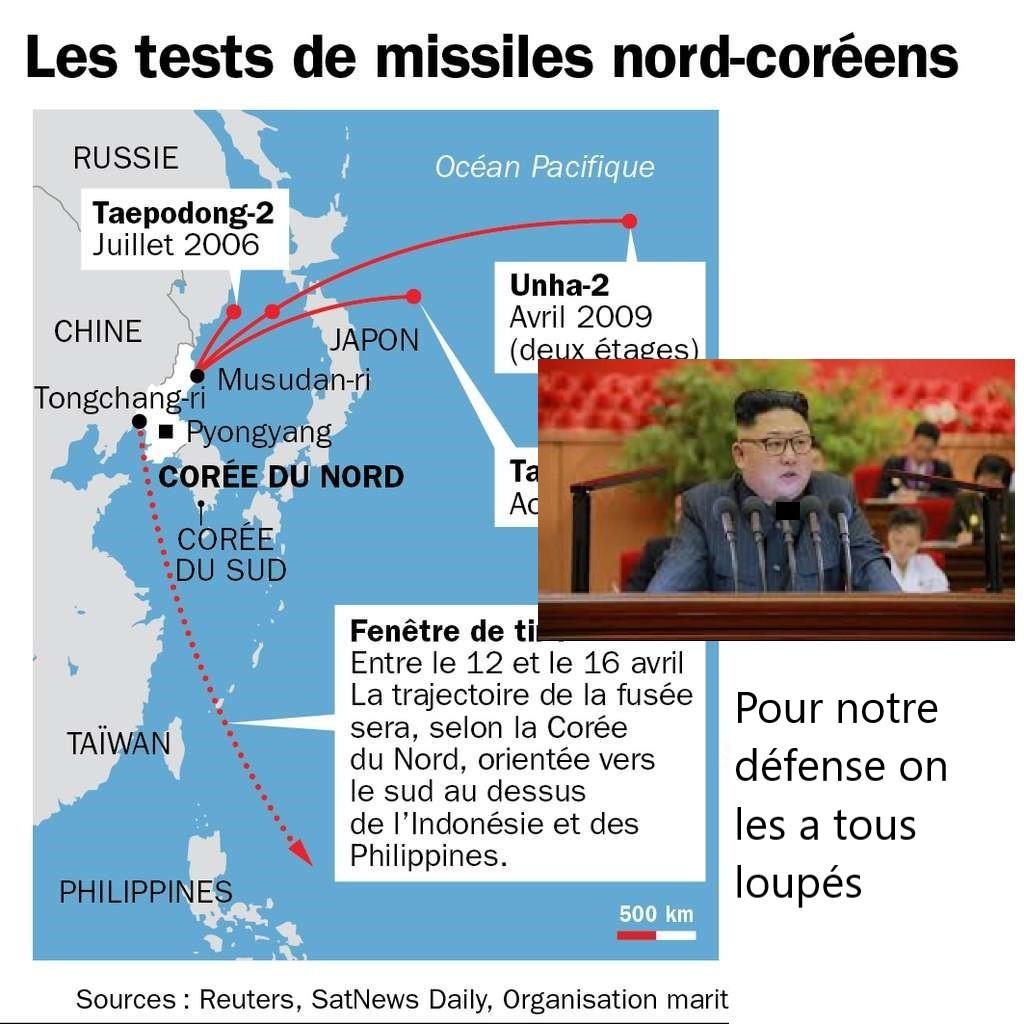 après les essai nucléires nord coréen, coférence de presse