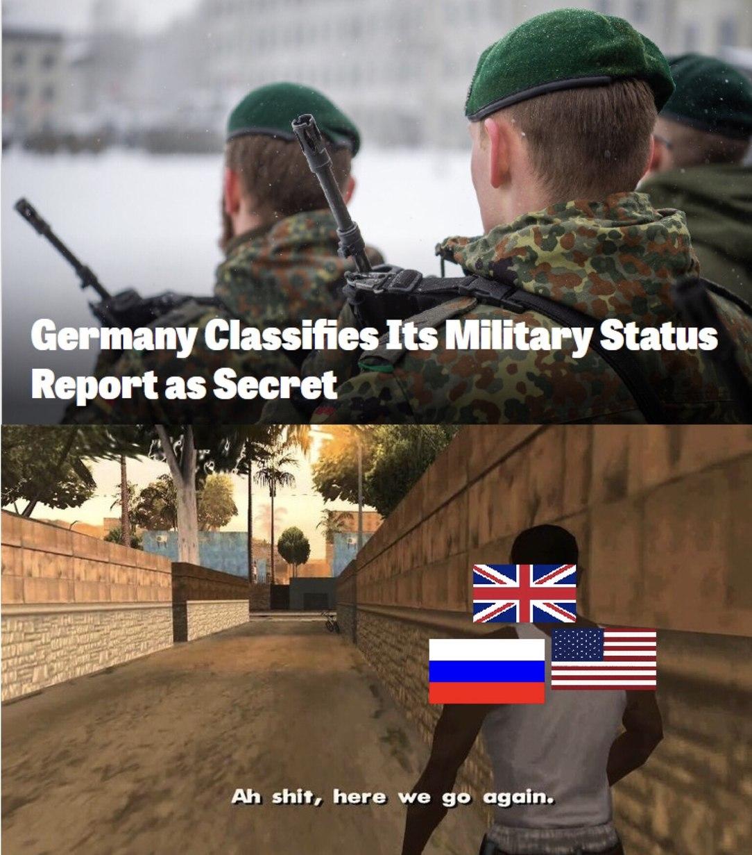 Hitler resurrected - meme