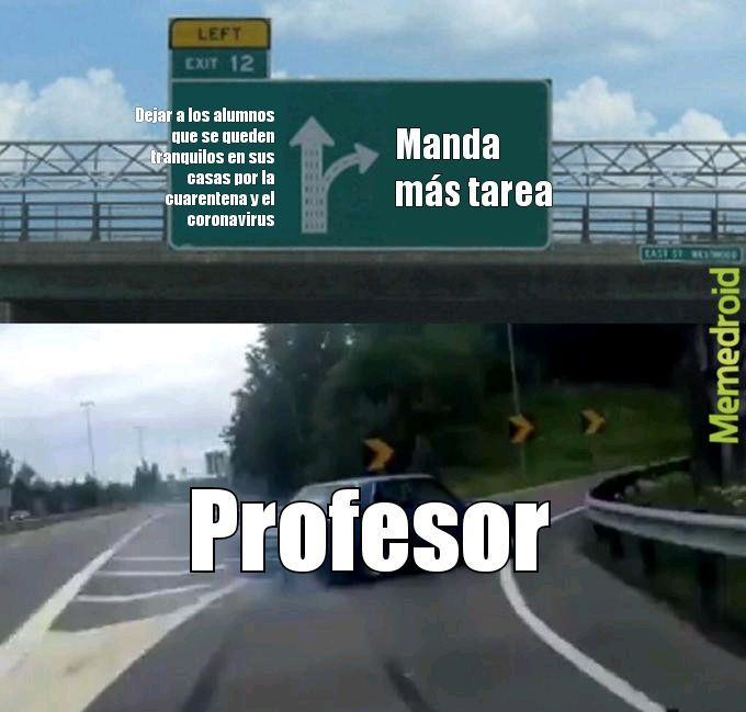 Malditos profesores - meme