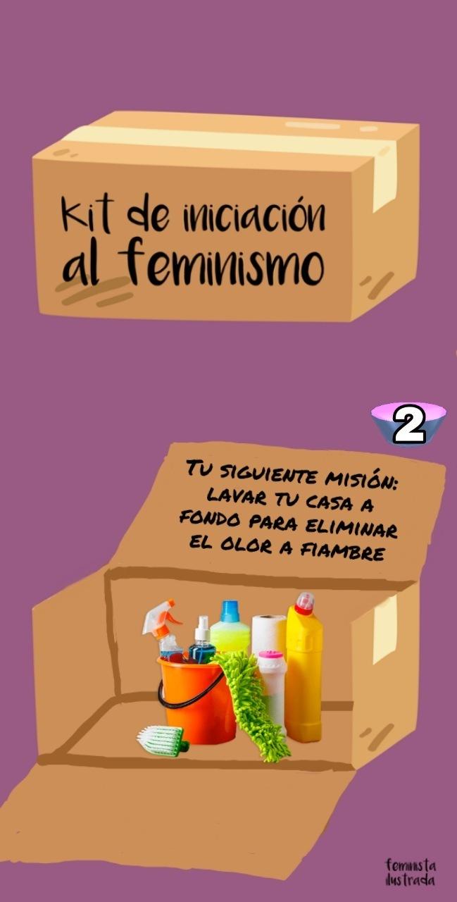 Segunda misión feminista - meme