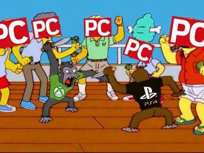 Podran decir lo que quieran pero los PCs solo analizan la batalla entre perras - meme