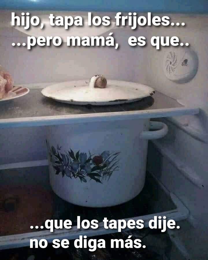Pero, mamá... - meme