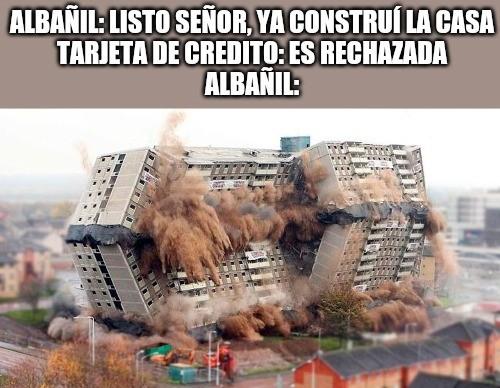 Albañil - meme
