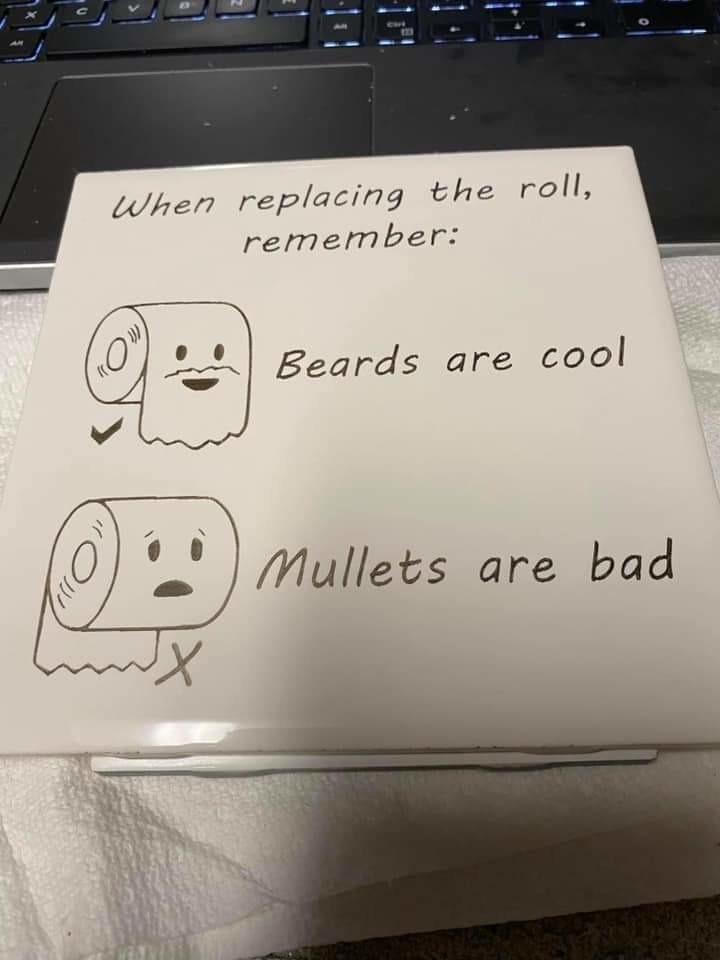 If you have a mullet then you are have the big ghey - meme