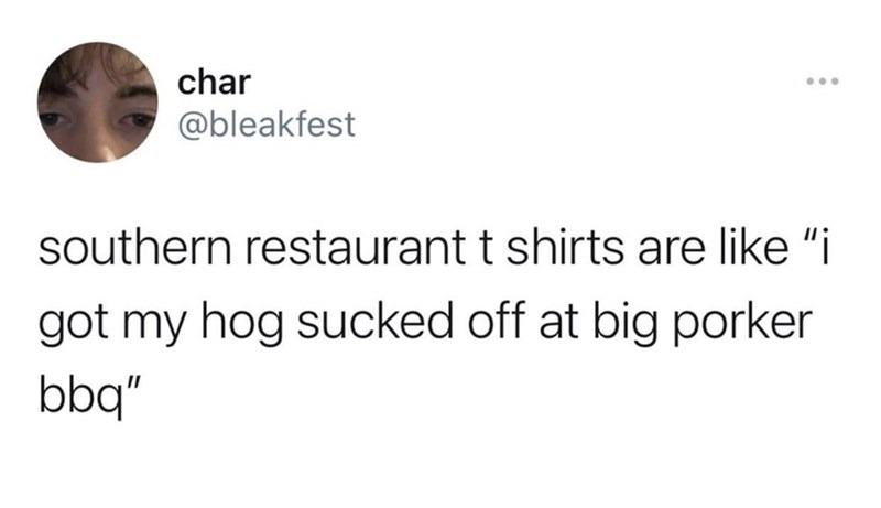 Pork sucker - meme
