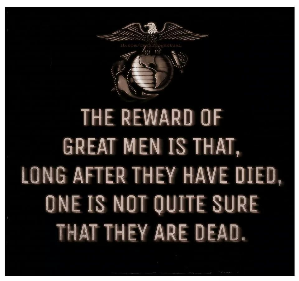 To all my Marine brothers, Semper Fi Devil Dogs! - meme
