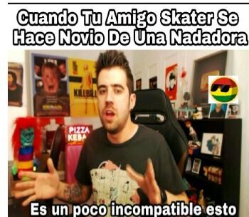 Clasico skater - meme