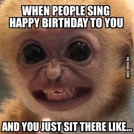 Happy birthday! - meme