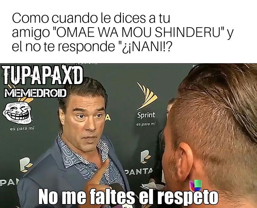 ¿¡NANI!? - meme