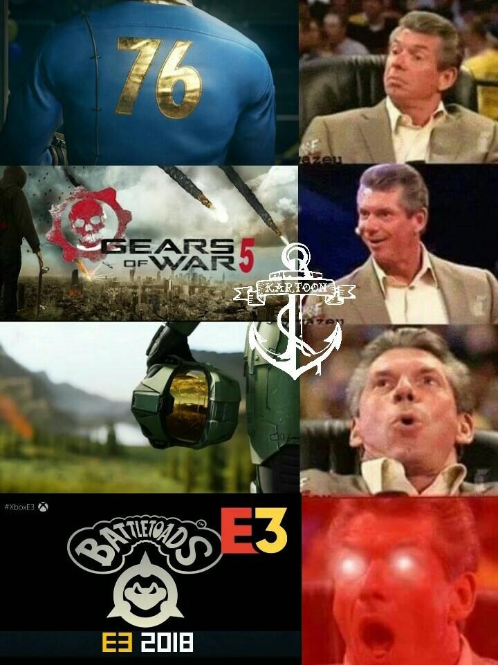 Microsoft E3 2018 - meme