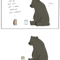 A kind bear that got confused