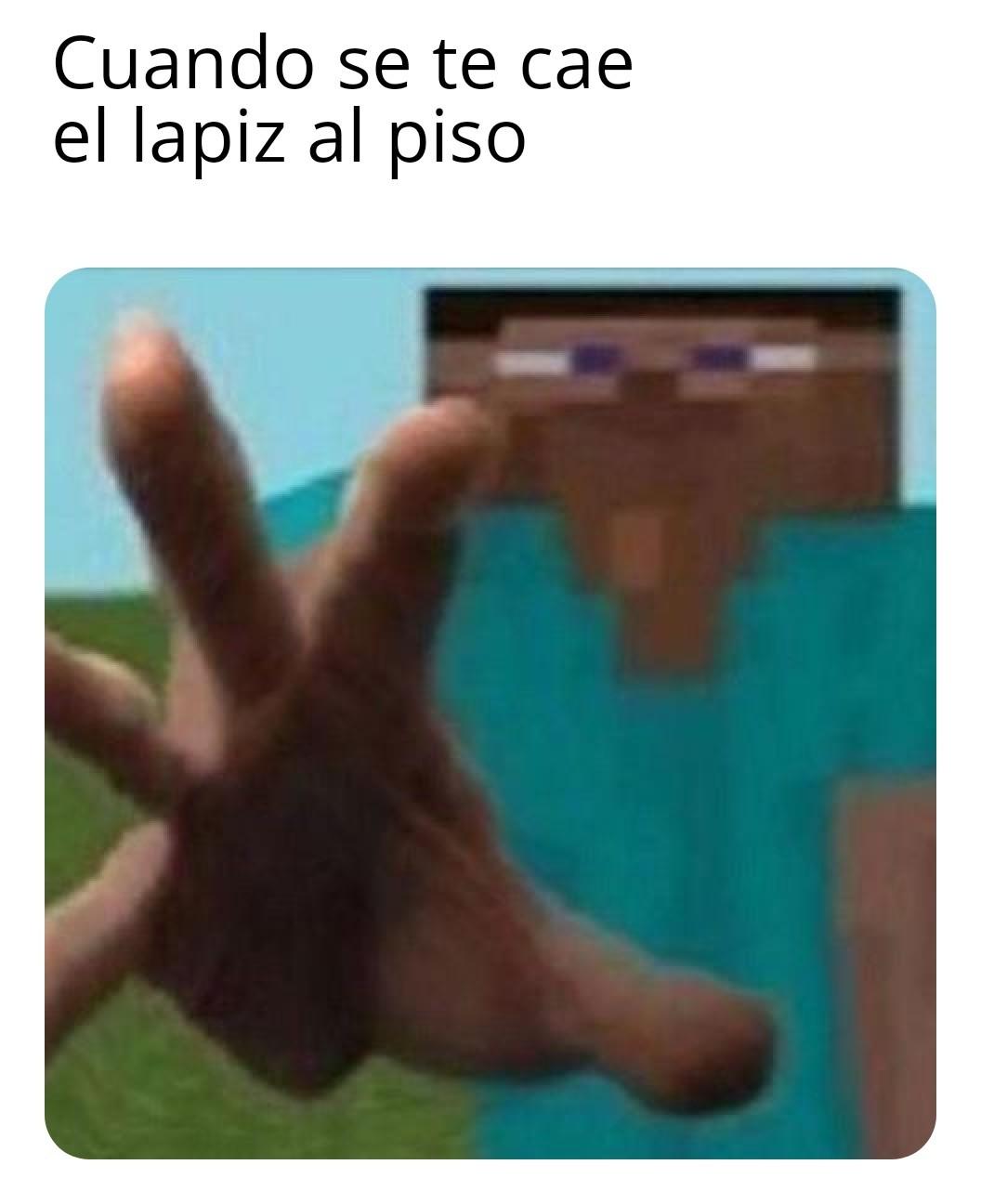 Pobre lapiz - meme