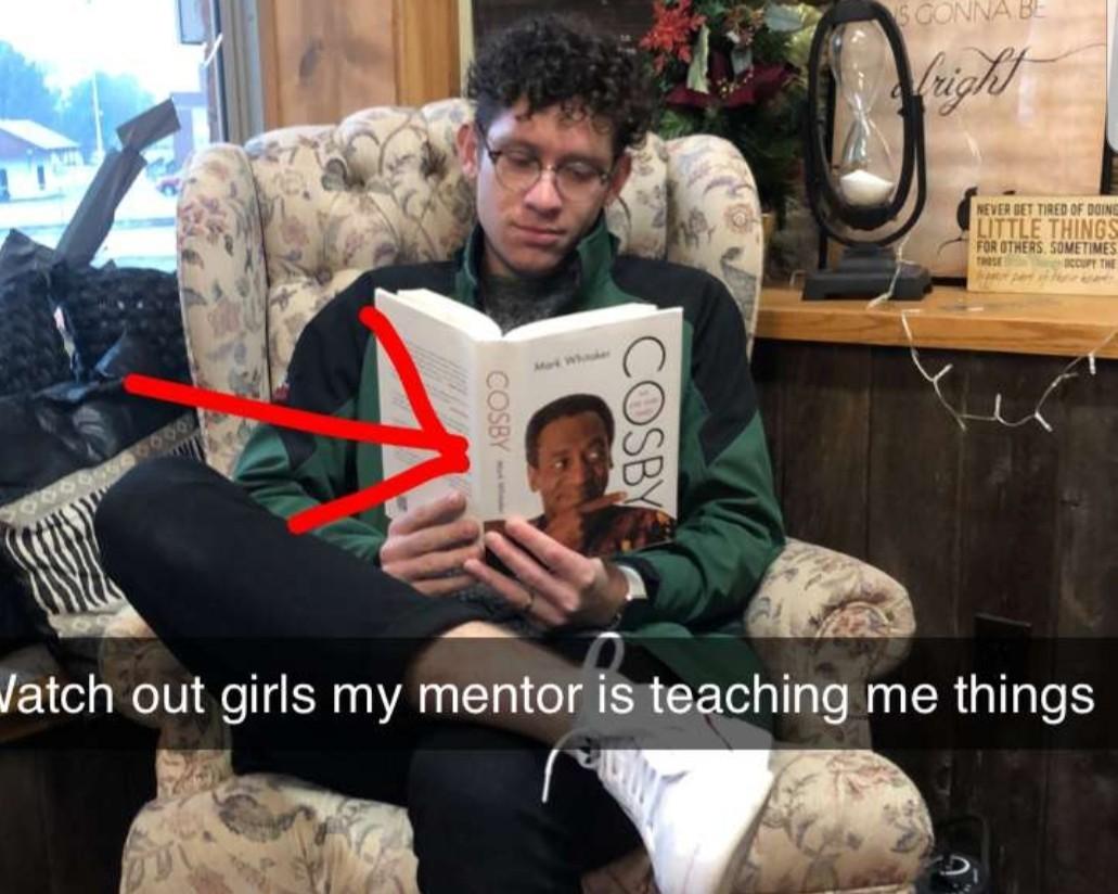Bad mentor - meme