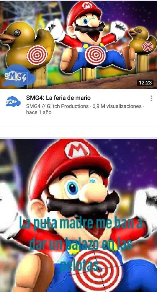 Pobre Mario :okay: - meme