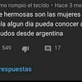 Saludos desde argentina