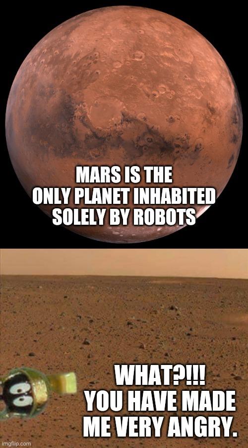 Marvin Martian gets a visitor. - meme