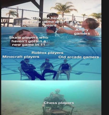 The true Dead games - meme