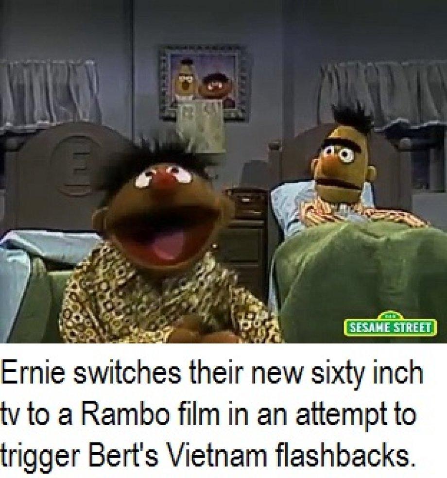 Ernie is an asshole