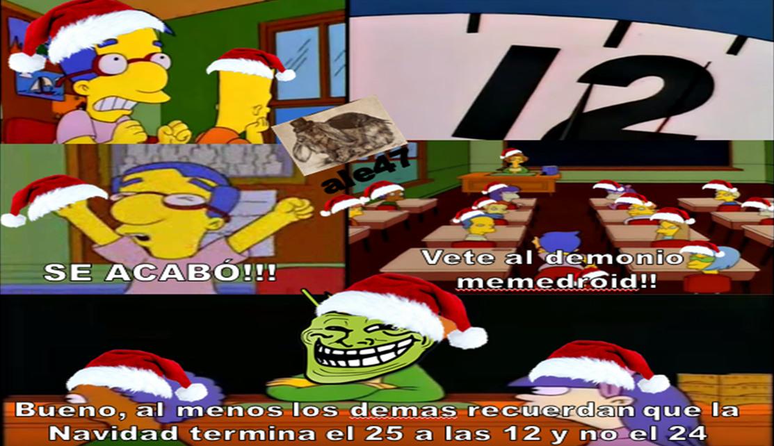 los ultimos memes de Navidad