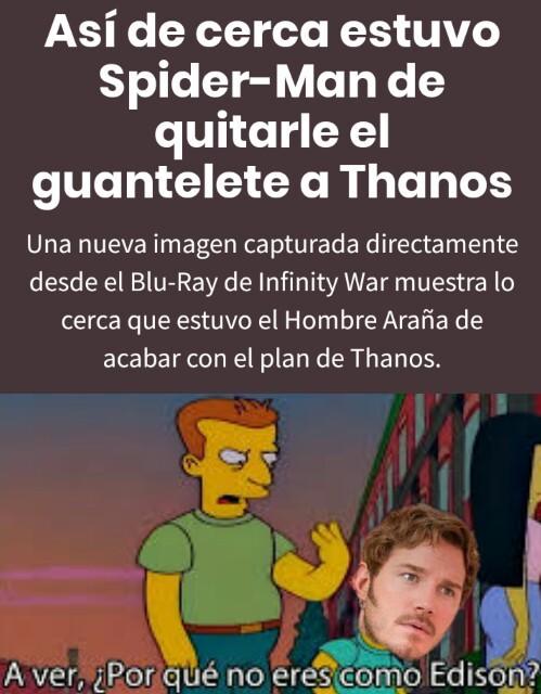 ¿Infinity war casi en septiembre? - meme