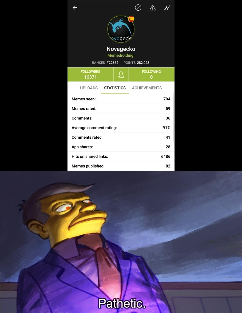 Novag is a noob - meme