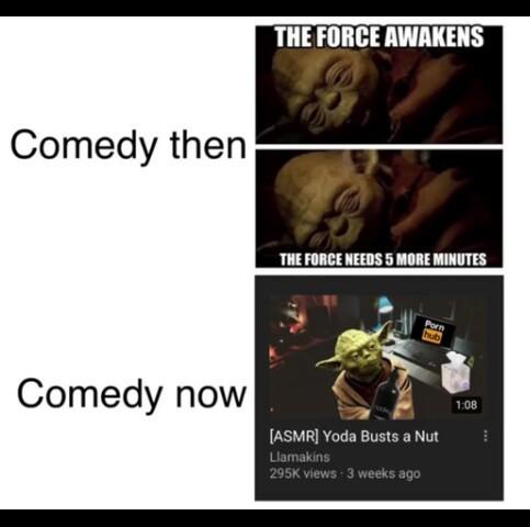 Star Wars time - meme