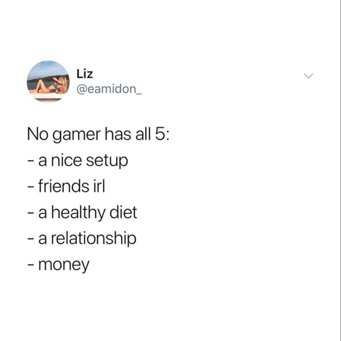 my gamer friend confirmed - meme