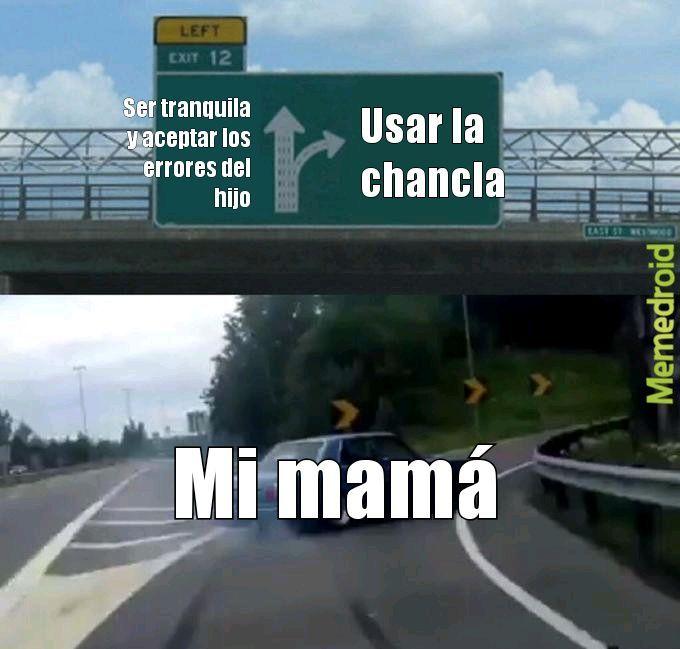 Mamá - meme